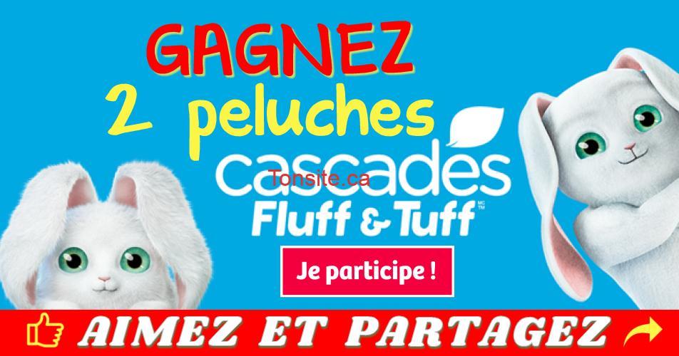 peluches cascades concours2 - Participez et gagnez un duo de peluches Cascades Fluff & Tuff