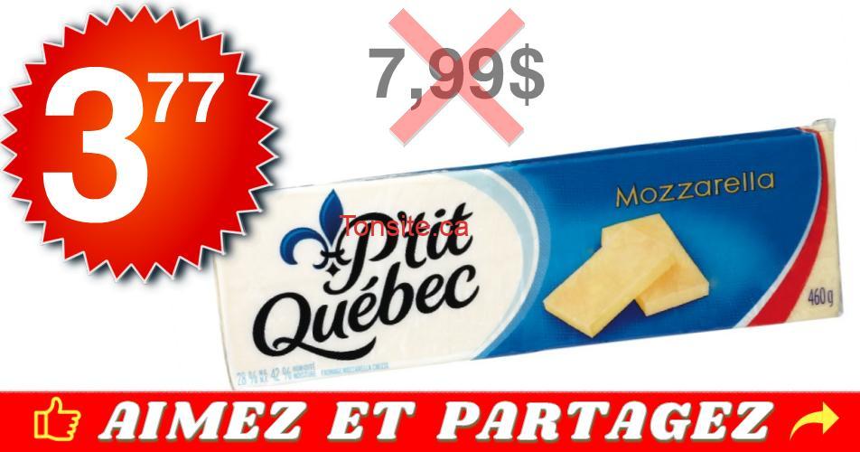 ptit qc 377 799 - Barre de fromage P'tit Québec à 3,77$ au lieu de 7,99$
