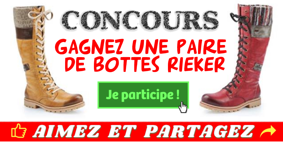 rieker concours2 - Participez et gagnez une paire de bottes Rieker !