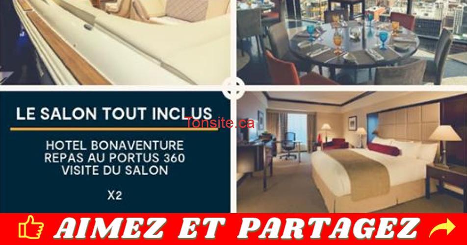 salon bateau concours - Gagnez une visite tout-inclus au salon du bateau et des sports nautiques de Montréal (valeur de 400$)