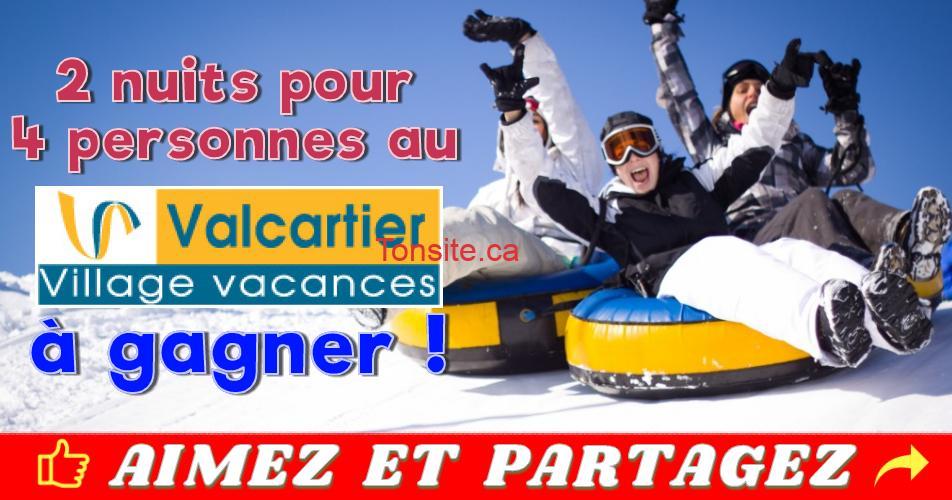village vacances valcartier concours - Gagnez 2 nuits pour 4 personnes au Village Vacances Valcartier (2 gagnants)