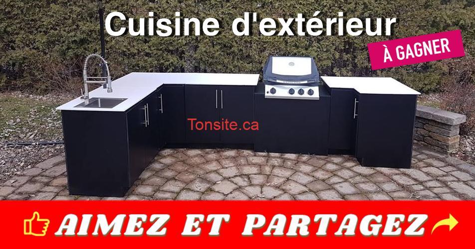 cuisine dexterieur - Participez et gagnez votre cuisine extérieur de rêve