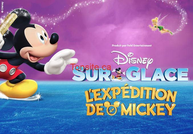disney sur glace mickey - Gagnez 1 des 4 forfaits famille pour le spectacle DISNEY SUR GLACE ! L'EXPÉDITION DE MICKEY