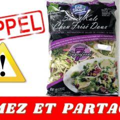 eat smart rappel 240x240 - Alerte Rappel: Salade de chou frisé Eat Smart possiblement contaminée