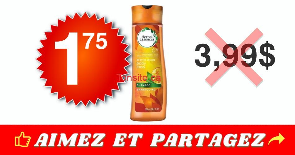 herbal essences 175 399 - Produits capillaires Herbal Essences à 1,75$ au lieu de 3,99$