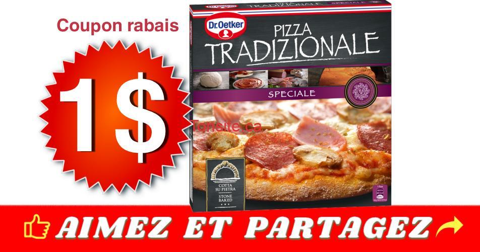 pizza dr oetker coupon - Coupon rabais de 1$ sur une (1) pizza Tradizionale de Dr. Oetker, au choix (370 G - 405 G)