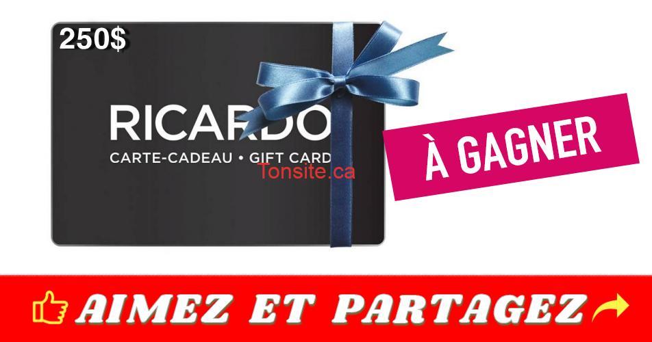ricardo 2501 - Concours Radio Canada: Gagnez une carte-cadeau de 250$ Ricardo Cuisine (3 gagnants)