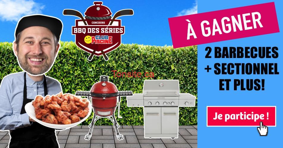 bbqs concours - Gagnez un BBQ à 4 brûleurs, BBQ au charbon et plus! (valeur + de 5000$)