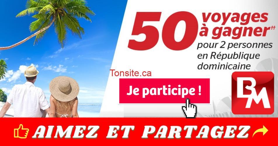 brault martineau concours200 - Concours Brault & Martineau: 50 voyages à gagner pour 2 personnes en République dominicaine