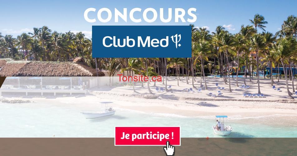 clubmed concours3 - Gagnez un voyage de 7 jours pour 2 personnes dans une destination soleil du Club Med