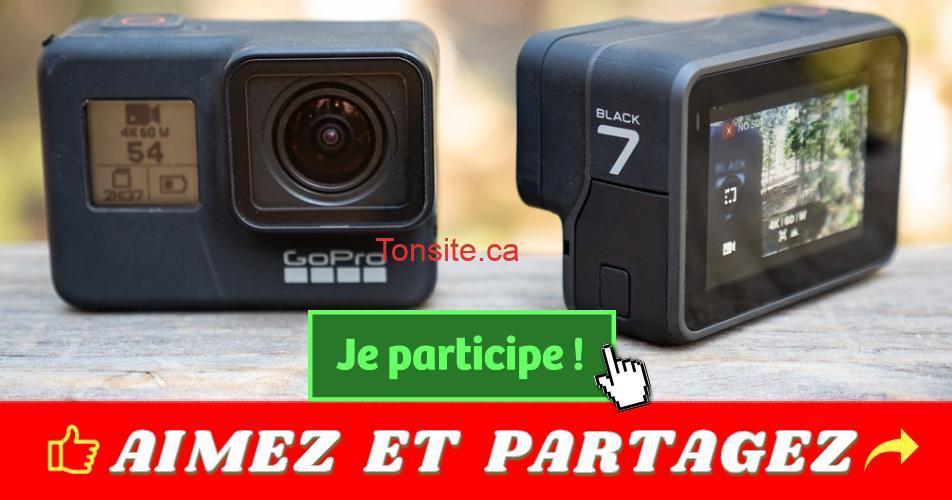 gopro7 - Concours PepsiCo Canada: Gagnez 1 des 3 caméras GOPRO Hero 7