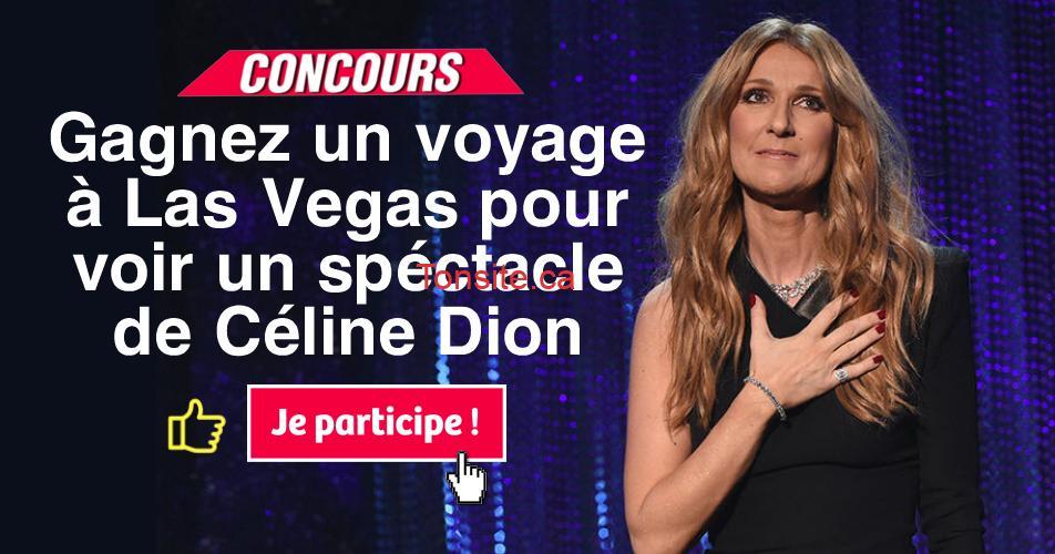 las vegas celine - Gagnez un voyage à Las Vegas pour voir un spectacle de Céline Dion