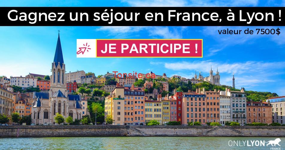 lyon concours - Gagnez un séjour en France, à Lyon ! (valeur de 7500$)