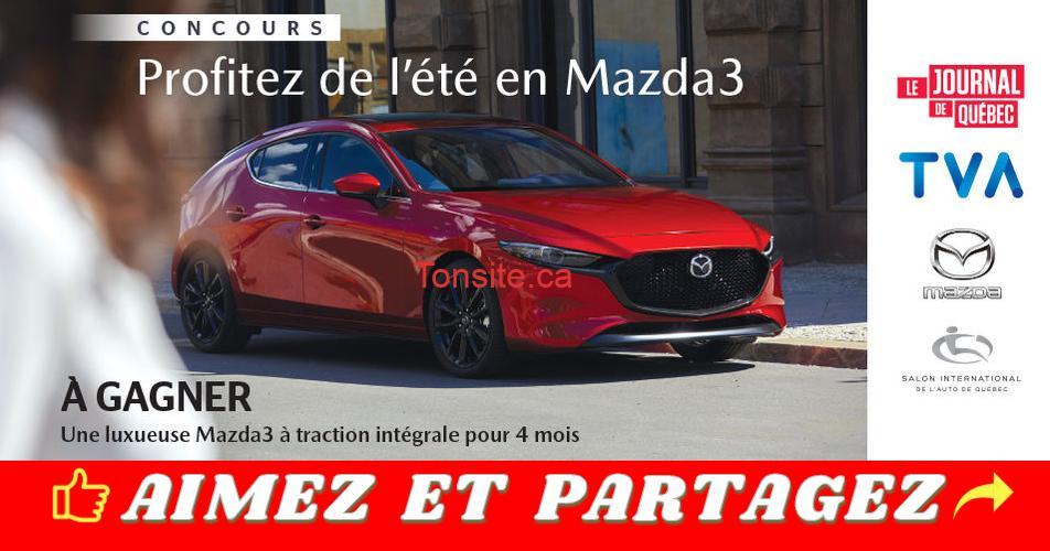 mazda3 concours - Concours: Profitez de l'été en Mazda3