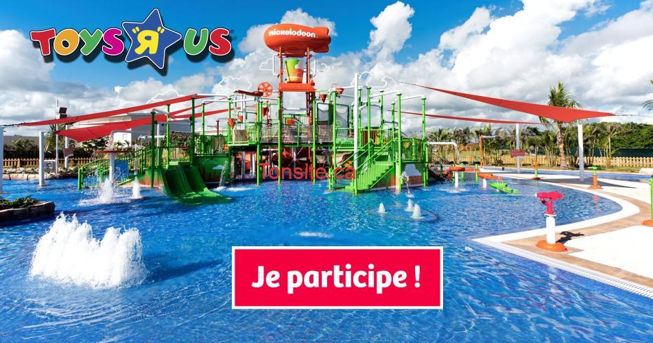 """toysrus concours - Concours Toys""""R""""Us: Gagnez un voyage en formule tout inclus pour une famille de 4 personnes au Nickelodeon Hotels & Resorts Punta Cana, en République dominicaine"""