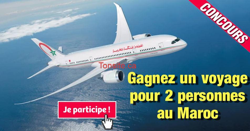 maroc concours3 - Gagnez une semaine de rêve pour 2 personnes au Maroc