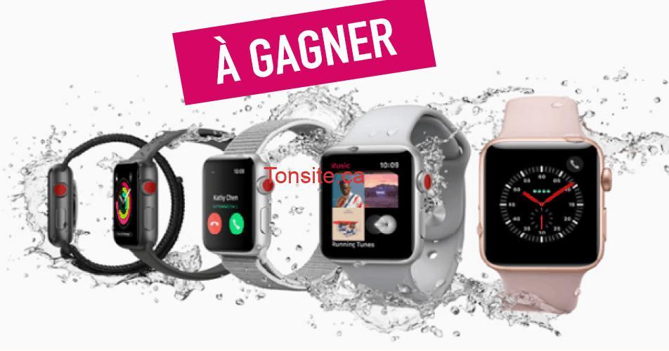 apple watch concours2 - Participez et gagnez une montre Apple Série 3