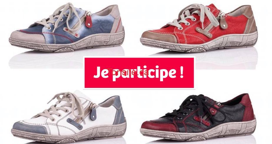 rieker concours6 - Gagnez une paire de chaussures Remonte