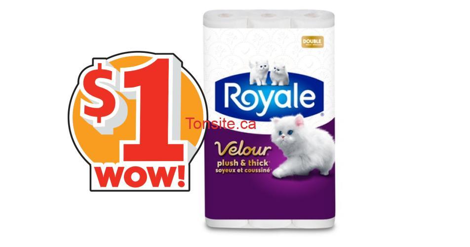 royale velour coupon 1 - Coupon rabais de 1$ sur tout emballage de Velour de ROYALE