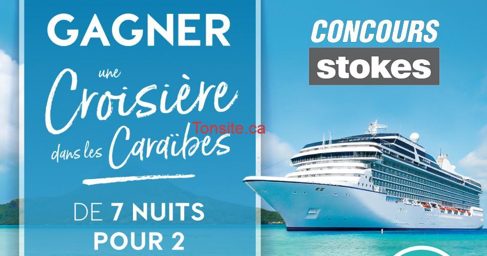 stokes concours caraibes - Gagner une croisière pour 2 personnes de 7 nuits dans les caraïbes