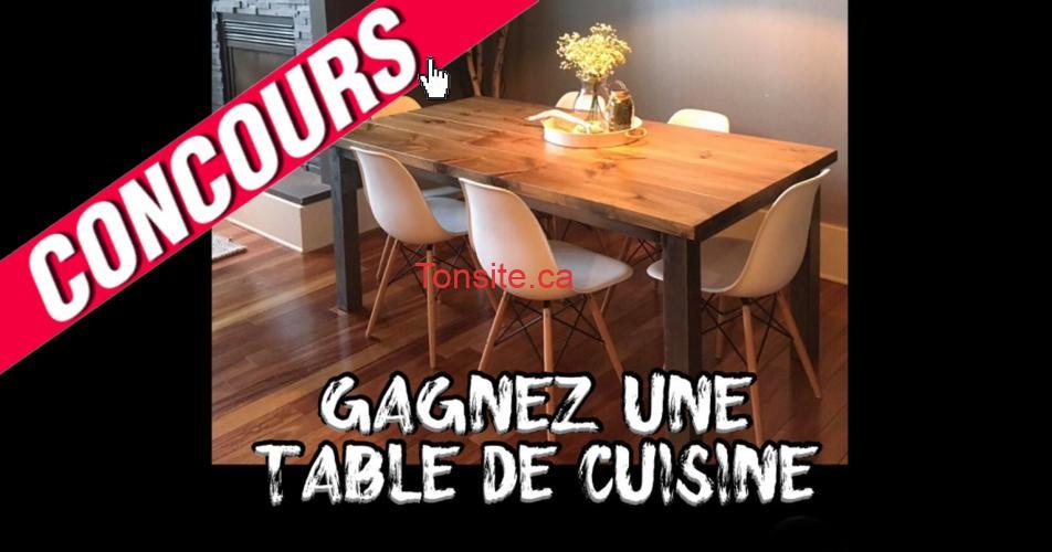 table de cuisine concours2 - Gagnez une table de cuisine directement de l'artisan