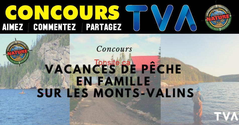 tva concours31 - Gagnez un forfait vacances complet pour un séjour de pêche inoubliable en famille