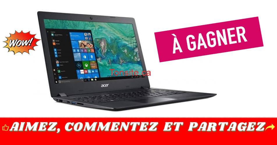 acer concours - Participez et gagnez un portable Acer Aspire
