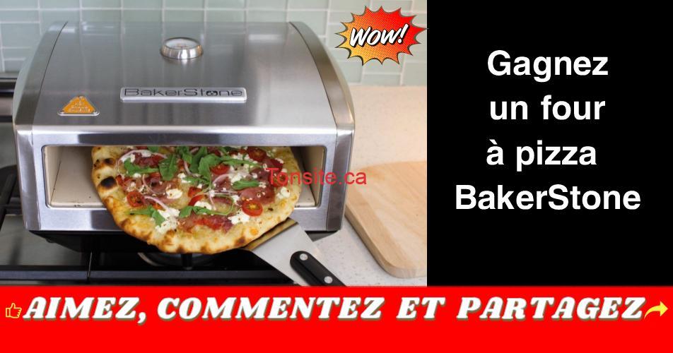 bakerstone four a pizza concours - Participez et gagnez un four à pizza BakerStone