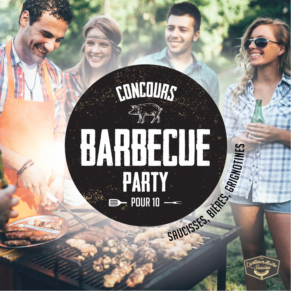 bbq party - Gagnez votre BARBECUE PARTY pour 10 personnes!