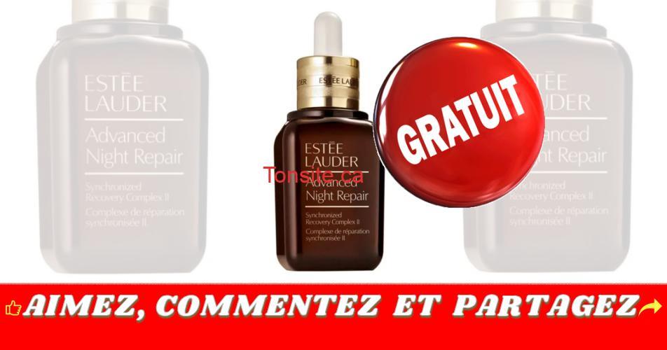estee lauder gratuit - GRATUIT: Obtenez un échantillon gratuit du nouveau sérum Advanced Night Repair d'Estee Lauder