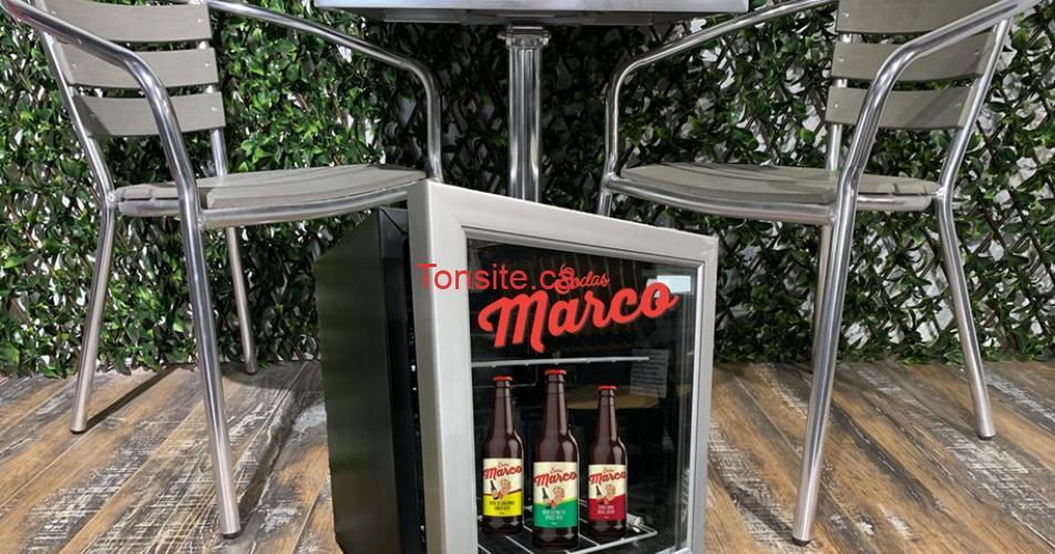 marco - Gagnez un set de patio et un mini frigo