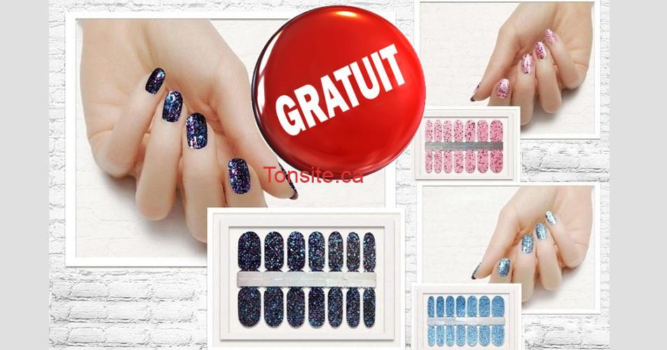 nail gratuit - GRATUIT: Obtenez un échantillon gratuit de bande de vernis à ongles