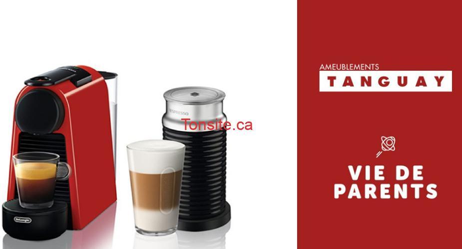 nespresso t - Gagnez une machine à café Nespresso + mousseur à lait de 250$
