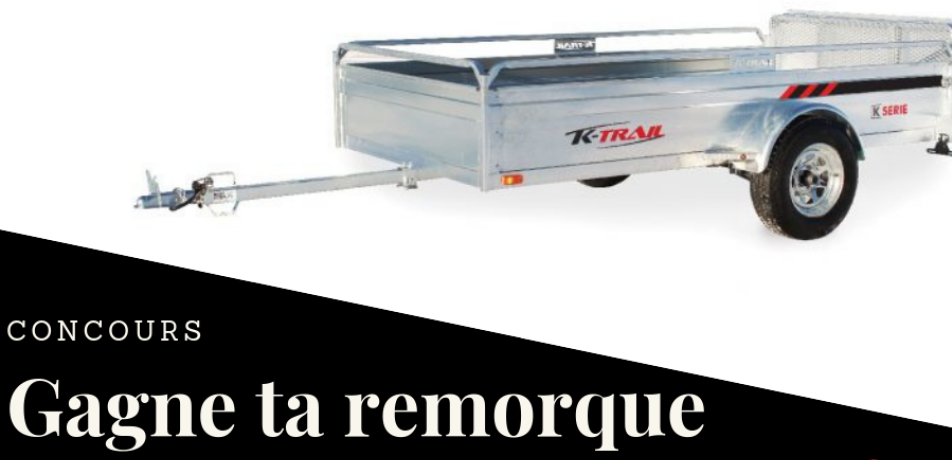 remorque concours - Gagnez une remorque K-Trail 66 X 123 S - RP