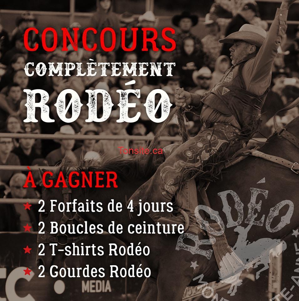 rodeo1 - Gagnez un forfait au Rodéo Mont-Sainte-Anne!