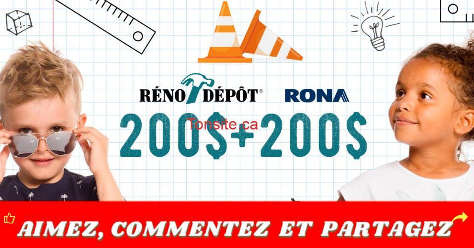 rona deux par deux - Gagnez 200 $ en vêtements Deux par Deux + 200 $ en produits RONA Réno-Dépôt