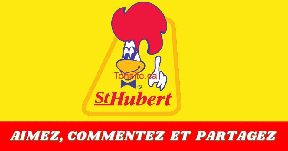 st hubert concours100 - Gagnez une carte-cadeau St-Hubert de 100$