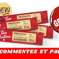 tims premium gratuit 240x240 - GRATUIT: Obtenez un échantillon du nouveau café instantané Tims Premium