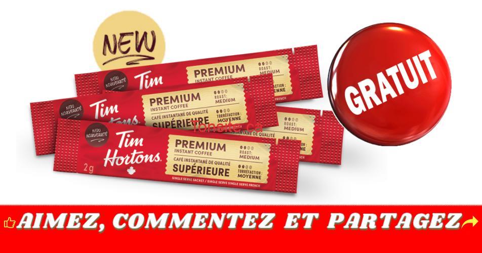 tims premium gratuit - GRATUIT: Obtenez un échantillon du nouveau café instantané Tims Premium