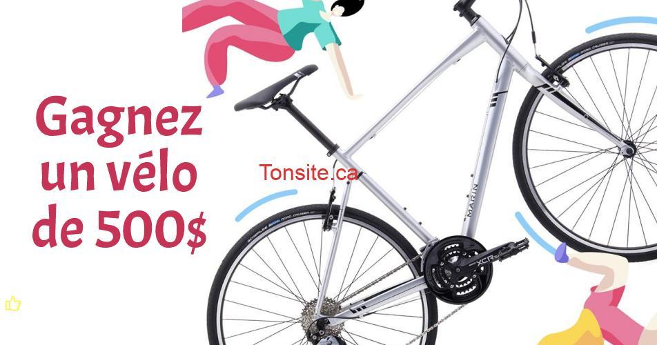 velo 500 concours - Participez et gagnez un vélo d'une valeur de 500$