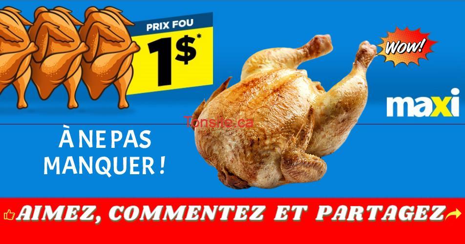 BBQ Poulet 1 - Obtenez un poulet BBQ pour 1$ seulement!