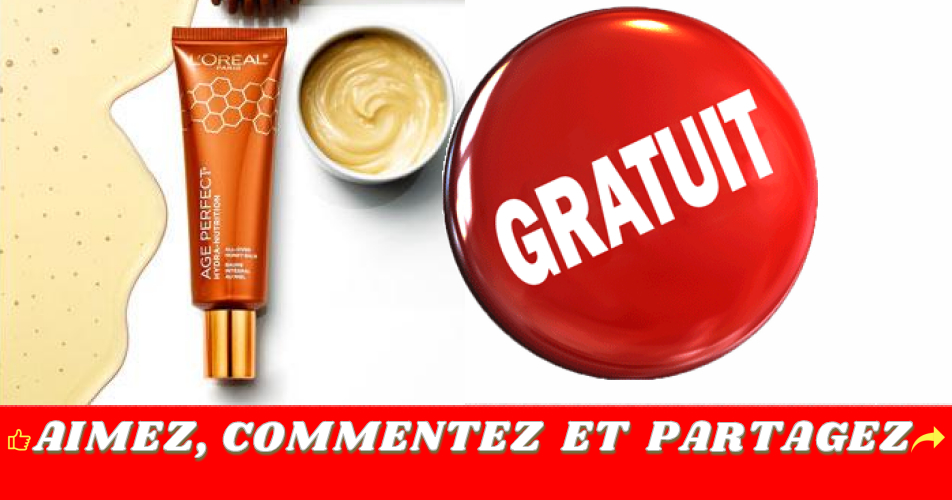 age perfect 1 - Demandez un échantillon gratuit de baume au miel multi-usage L'Oreal Paris