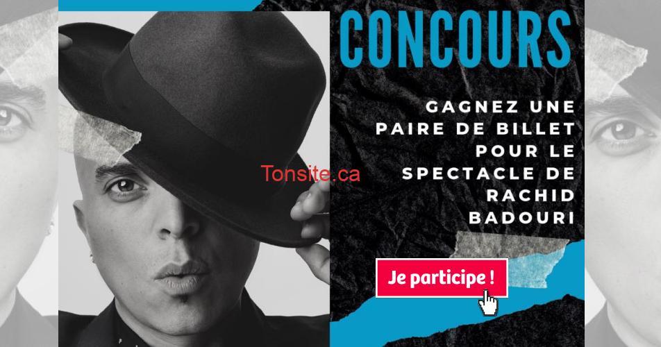 badouri concours2 - Gagnez une paire de billet pour le nouveau spectacle de Rachid Badouri