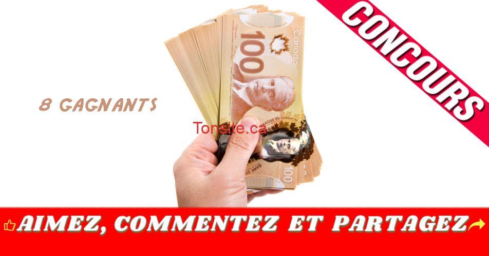 concours 500 8g - Gagnez une carte-prépayée de 500$ (8 gagnants)