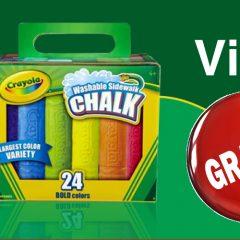 crayola gratuit 240x240 - Obtenez un paquet de craie Crayola GRATUIT