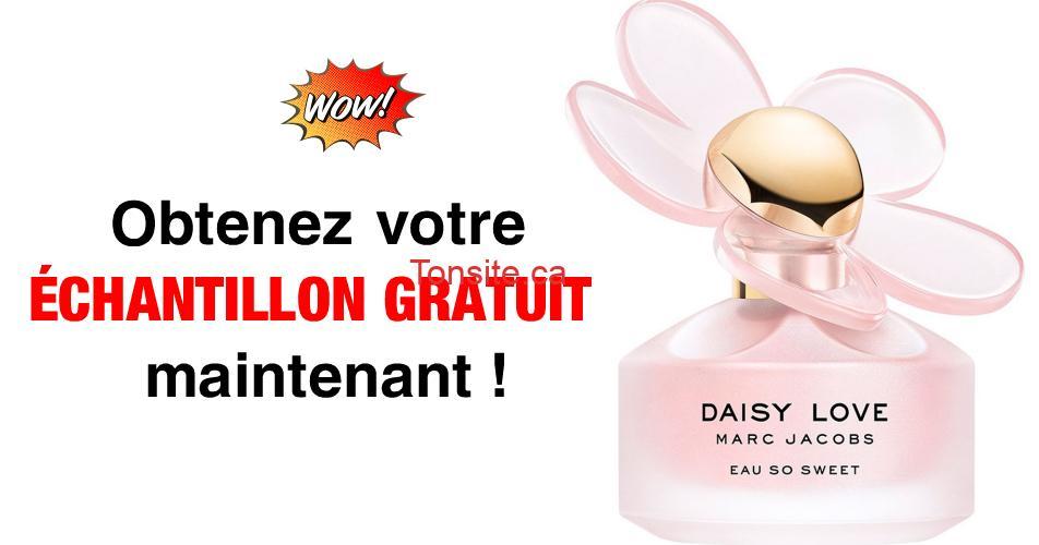 daisy love echantillon - Obtenez un échantillon GRATUIT de la nouvelle eau de toilette Daisy Love Eau So Sweet de Marc Jacobs