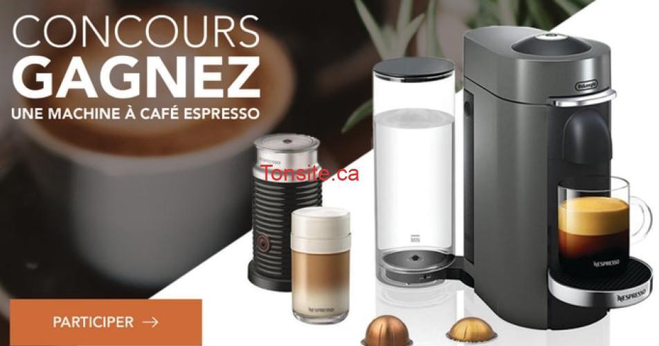 espresso concours2 - Gagnez une Machine à café Espresso d'une valeur de 350 $