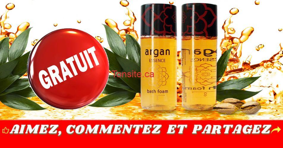 free bath sample 1 - Obtenez un échantillon gratuit de mousse pour le bain à l'huile d'argan