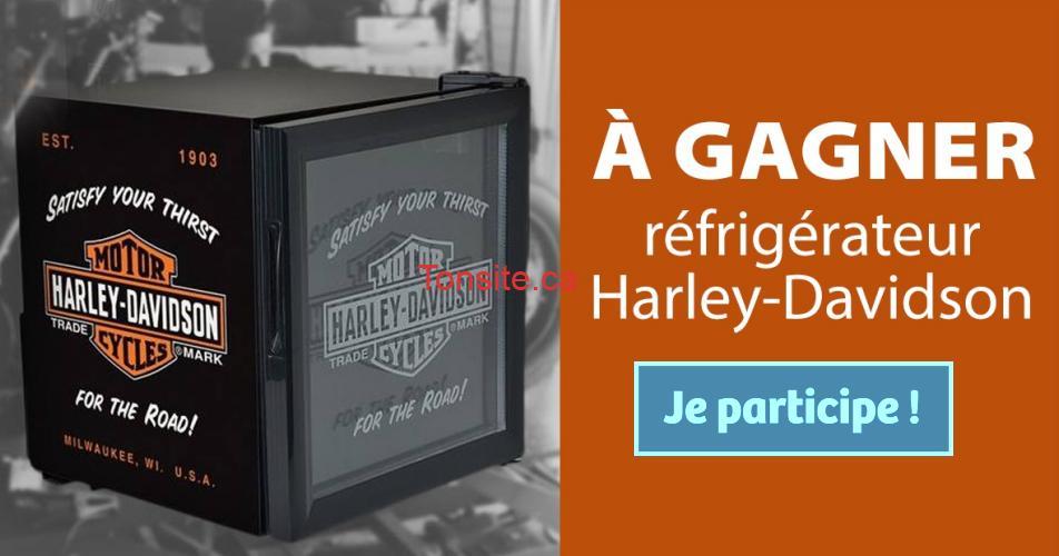 harley davidson concours - Participez et gagnez un réfrigérateur Harley-Davidson