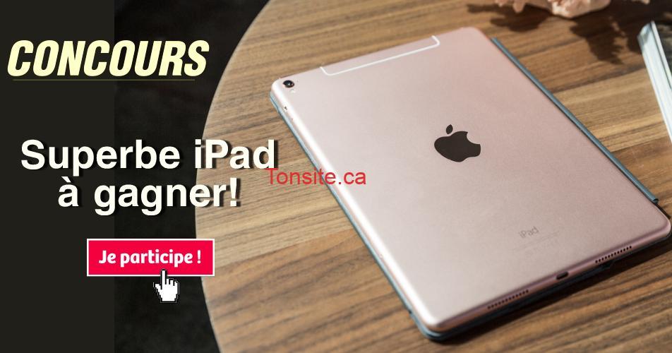 ipad concours3 - Participez et gagnez un superbe iPad (valeur de 325$)